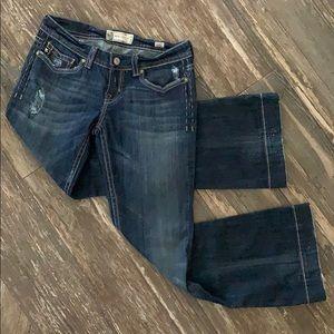 NWOT MEK OAXACA Flare Jeans! 30/32!
